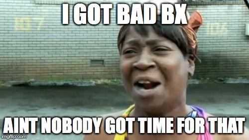 Sweet Brown Bad BX Buyer Experience